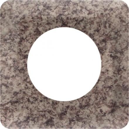 Osłonka pod kontakt / włącznik pojedyncza Granit wzór 1