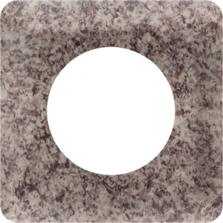 Osłonka pod kontakt / włącznik pojedyncza Granit wzór 2