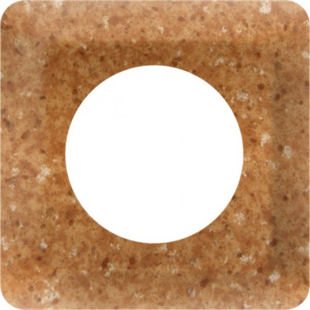 Osłonka pod kontakt / włącznik pojedyncza Granit wzór 5
