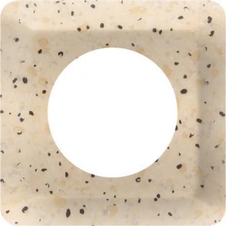 Osłonka pod kontakt / włącznik pojedyncza Granit wzór 7