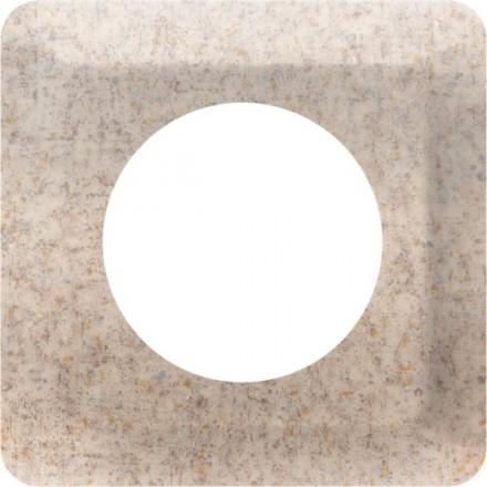 Osłonka pod kontakt / włącznik pojedyncza Granit wzór 8