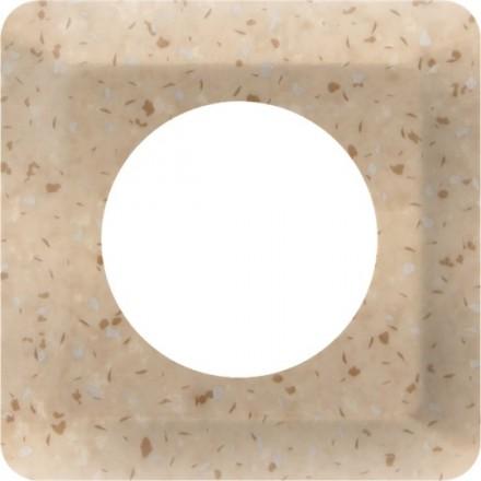 Osłonka pod kontakt / włącznik pojedyncza Granit wzór 11