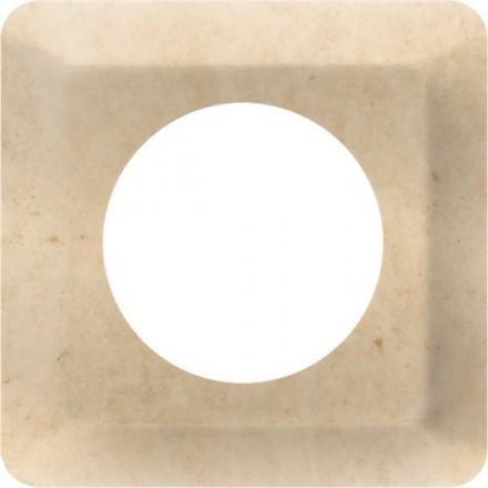 Osłonka pod kontakt / włącznik pojedyncza Granit wzór 12