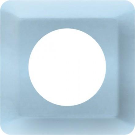 Osłonka pod kontakt / włącznik pojedyncza Błękit