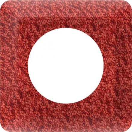 Osłonka pod kontakt / włącznik pojedyncza Tkanina wzór 1
