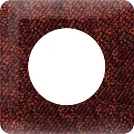 Osłonka pod kontakt / włącznik pojedyncza Tkanina wzór 5