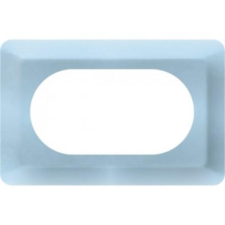 Osłonka pod kontakt / włącznik podwójna Błękit