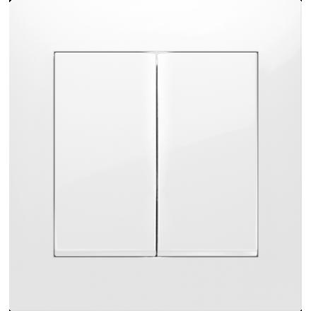 Włącznik Wyłącznik SIMON 54 + ramka podwójny