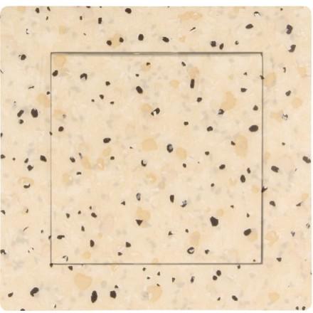 Włącznik Wyłącznik Adelind KM W1 + ramka pojedynczy Granit wzór 7