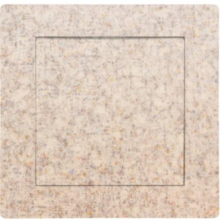 Włącznik Wyłącznik Adelind KM W1 + ramka pojedynczy Granit wzór 8