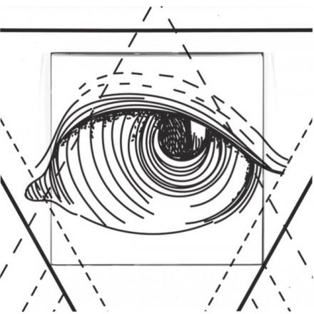 Włącznik Wyłącznik Adelind KM W1 + ramka pojedynczy Illuminati
