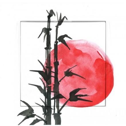 Włącznik Wyłącznik Adelind KM W1 + ramka pojedynczy Japoński zachód słońca