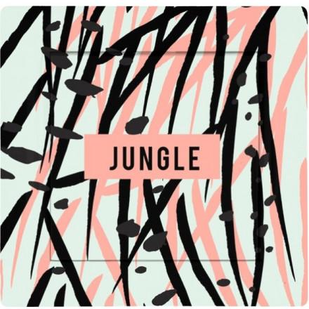 Włącznik Wyłącznik Adelind KM W1 + ramka pojedynczy Jungle