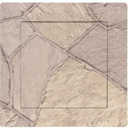 Włącznik Wyłącznik Adelind KM W1 + ramka pojedynczy Kamień wzór 1