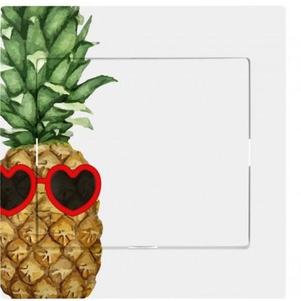 Włącznik Wyłącznik Sigma + ramka pojedynczy Ananas w okularach