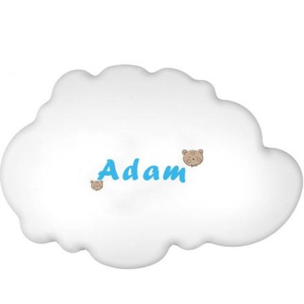Lampa ścienna nocna biała chmurka Adam wzór 4