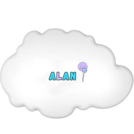 Lampa ścienna nocna biała chmurka Alan wzór 3