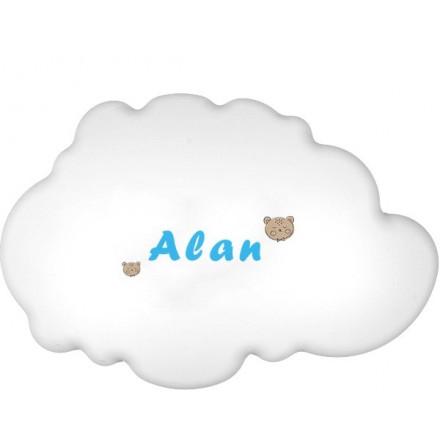 Lampa ścienna nocna biała chmurka Alan wzór 4