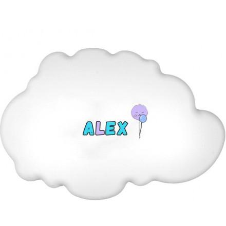Lampa ścienna nocna biała chmurka Alex wzór 3