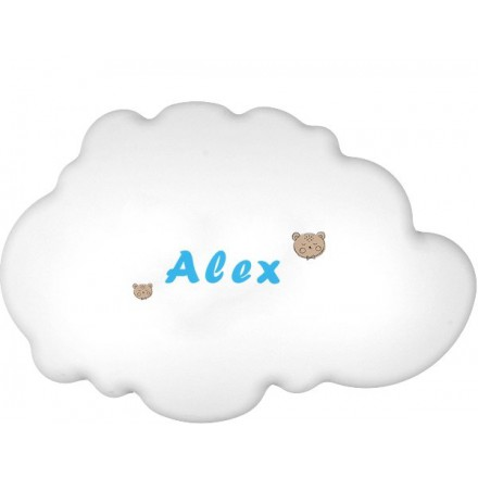 Lampa ścienna nocna biała chmurka Alex wzór 4