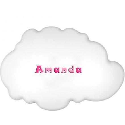 Lampa ścienna nocna biała chmurka Amanda wzór 2