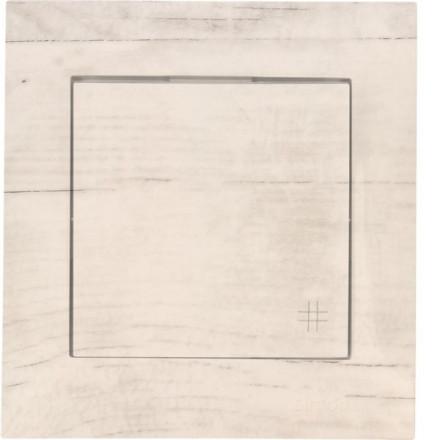 Włącznik krzyżowy Pojedynczy Simon 54 Białe drewno