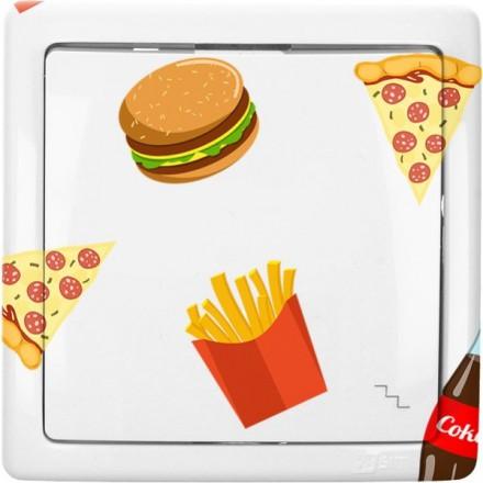 Włącznik schodowy Basic pojedynczy Fast Food