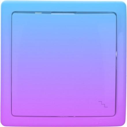 Włącznik schodowy Basic pojedynczy Fioletowy gradient
