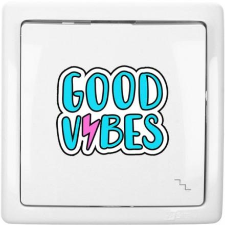 Włącznik schodowy Basic pojedynczy Good vibes