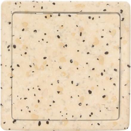 Włącznik schodowy Basic pojedynczy Granit wzór 7