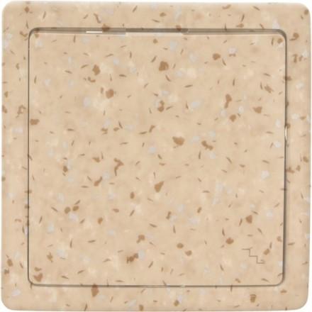 Włącznik schodowy Basic pojedynczy Granit wzór 11