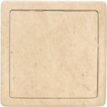 Włącznik schodowy Basic pojedynczy Granit wzór 12