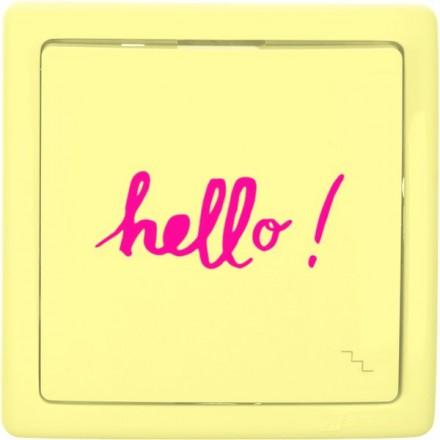 Włącznik schodowy Basic pojedynczy Hello