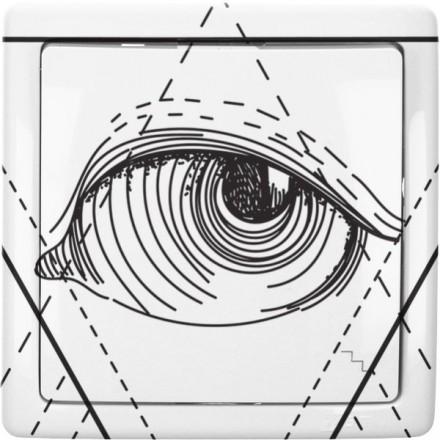 Włącznik schodowy Basic pojedynczy Illuminati