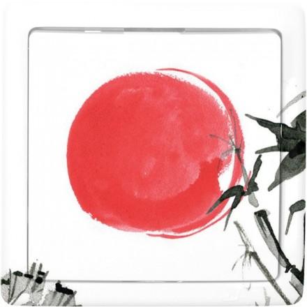 Włącznik schodowy Basic pojedynczy Japońskie słońce