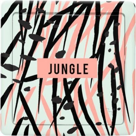 Włącznik schodowy Basic pojedynczy Jungle