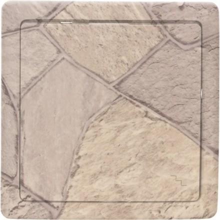 Włącznik schodowy Basic pojedynczy Kamień wzór 1