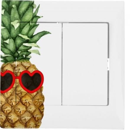 Włącznik schodowy Sigma Podwójny Ananas w okularach