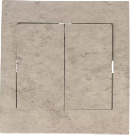 Włącznik schodowy Sigma Podwójny Beton