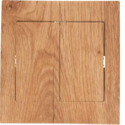 Włącznik schodowy Sigma Podwójny Dąb edyngurg