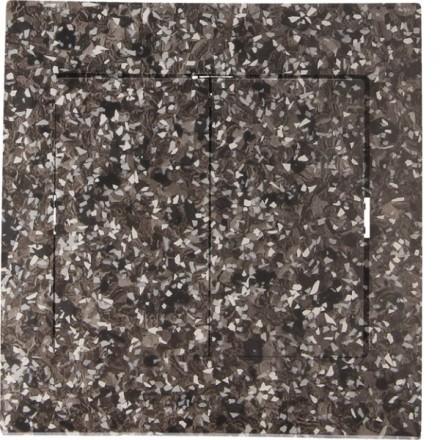 Włącznik schodowy Sigma Podwójny Granit wzór 3