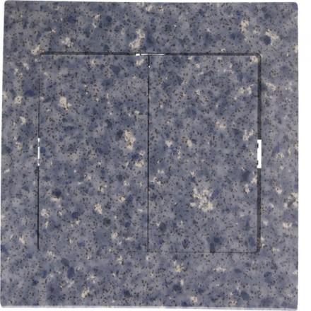 Włącznik schodowy Sigma Podwójny Granit wzór 4
