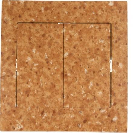 Włącznik schodowy Sigma Podwójny Granit wzór 5