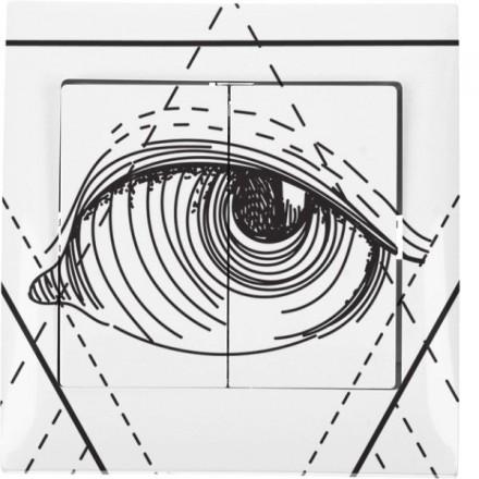 Włącznik schodowy Sigma Podwójny Illuminati
