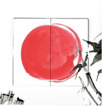 Włącznik schodowy Sigma Podwójny Japońskie słońce