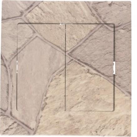 Włącznik schodowy Sigma Podwójny Kamień wzór 1