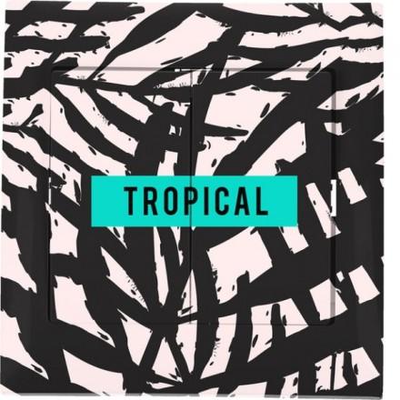 Włącznik schodowy Sigma Podwójny Tropical