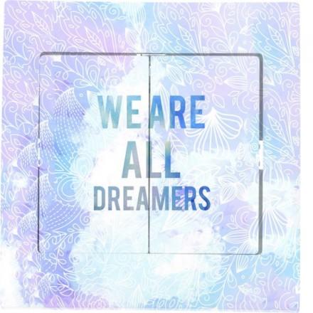Włącznik schodowy Sigma Podwójny We are all dremers