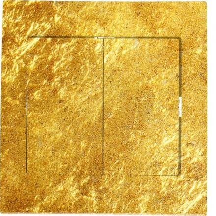 Włącznik schodowy Sigma Podwójny Złoto