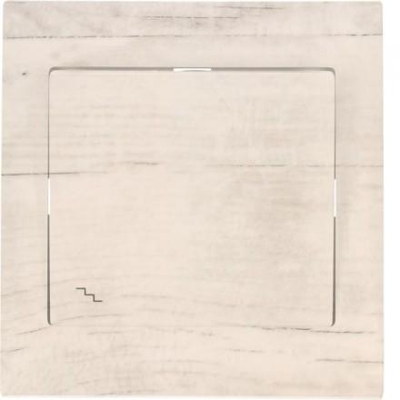 Włącznik schodowy Sigma Pojedynczy Białe drewno